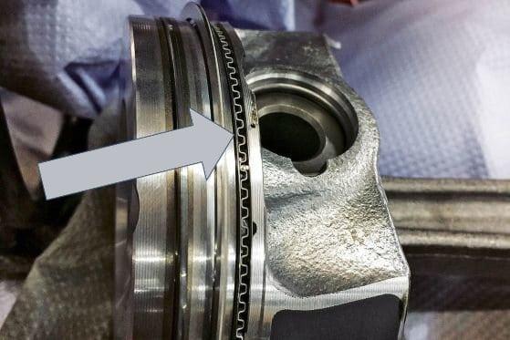 TFSI new redesigned piston rings