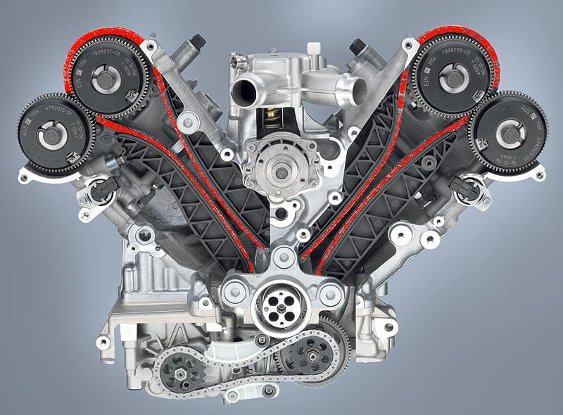 BMW M3 timing chain